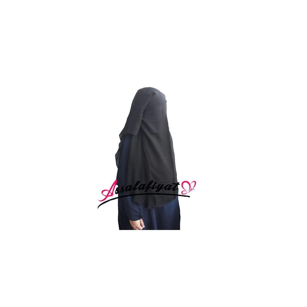 Niqab/sitar saoudien 3 voiles