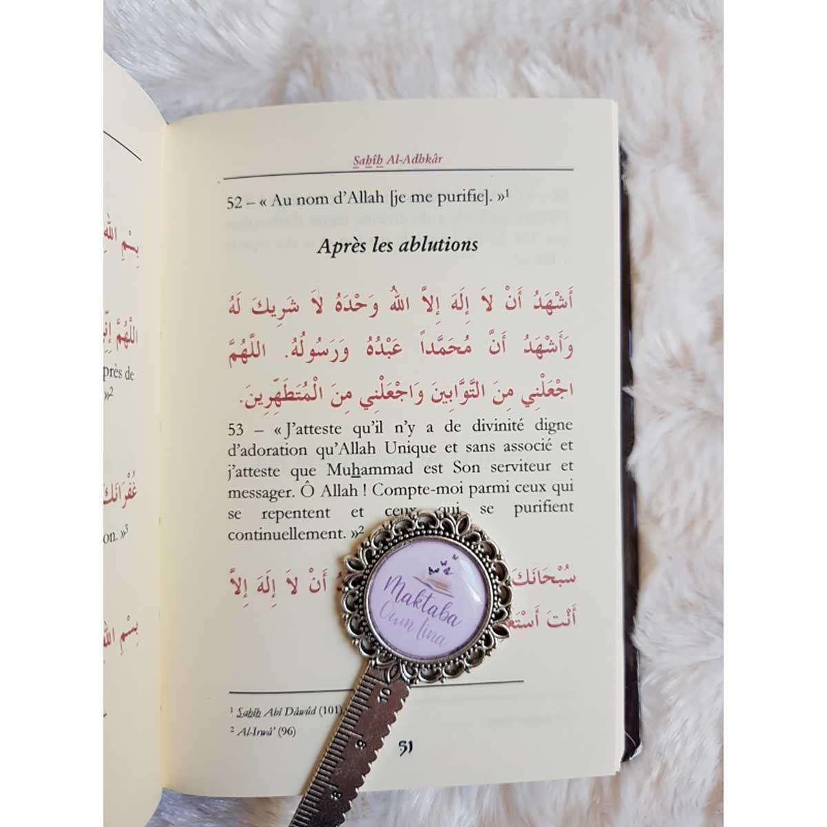 Sahih Al-Adhkâr , le rappel authentique - Édition TAWBAH