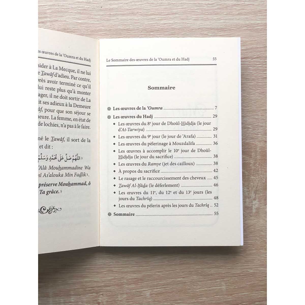 Le sommaire des oeuvres de la Omra et du Hajj - Cheikh Mohamed Ali Ferkous