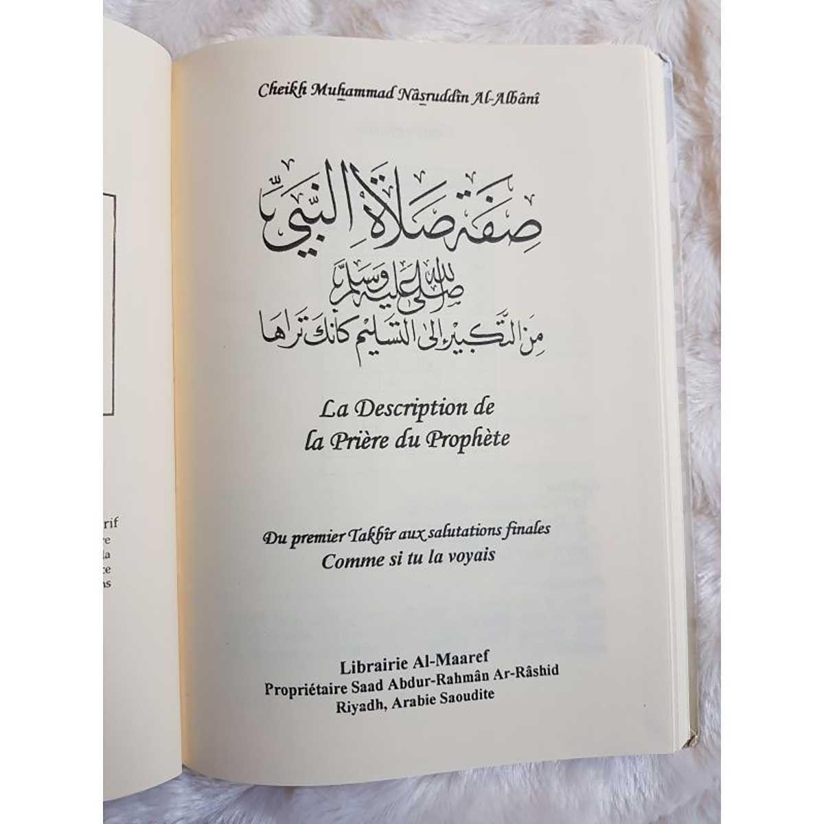 La description de la prière du prophète - Cheikh Muhammad Nâsruddin Al-Albânî